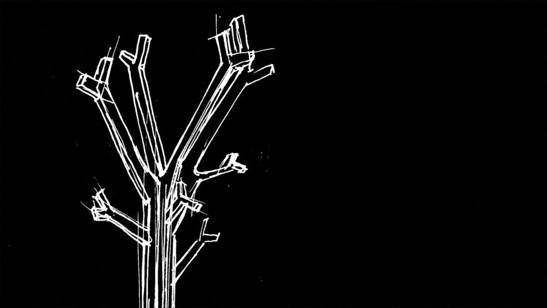 cabide árvore